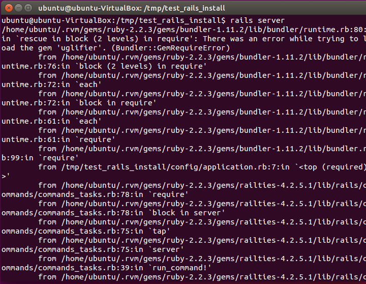 Установка и настройка Ubuntu для работы на Ruby On Rails